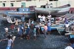 Scene at Tarrafal Shore on São Nicolau