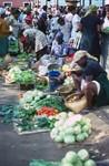 Market Scene in Praia