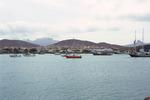 Porto Grande From Mindelo Bay