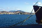 Ship in Bay of Mindelo