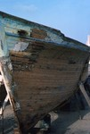 Wooden Boat in Repair