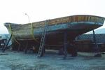 Wooden Boat in Repair