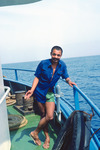 "Man Onboard ""Porto Novo"""