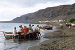 Boat Launching at Tarrafal Bay