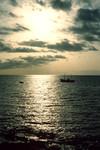 Sunset on Tarrafal Bay
