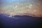 Fogo Coastline, Sea Port; Aerial View