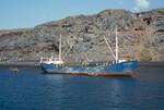 Commercial Vessel, Docked