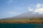 Pico do Fogo Seen From Ocean