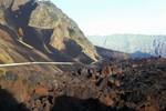 Terrain surrounding Pico de Fogo