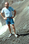 David Baxter in Pico do Fogo