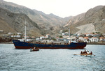 Disembarking at Furna
