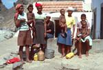 Residents of Fajã d'Água