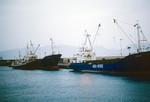 Ships Docked at Porto Grande