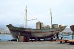 Fishing Boat Maintenance at Porto Grande