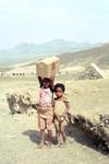 Children at the Pozolan Mines