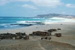 Coastline of Praia de Cabral