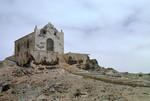 Ruins of Chapel Against Cloudy Sky