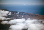 Aerial View of Coastal Hills on São Vicente