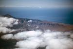 Aerial View of Coastal Hills on São Vicente