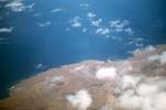 Aerial view of Baia das Gatas, São Vicente
