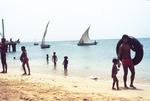 Beach Scene Near the Port of Sal Rei