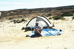 Camping on Praia Curralinho