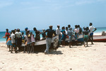 Fishermen and Residents with Boats