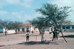 Men Working in Village