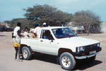 Village Residents and Pickup Truck