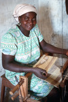Woman with Loom