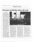 Jovenes recibiran clases de arte by Tatiana Pina