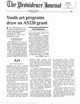 Youth art programs draw on AS220 grant by Marion Davis