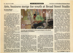 Arts, business merge for youth at Broad Street Studio