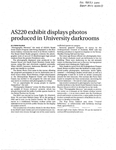 AS220 exhibit displays photos produced in University darkrooms