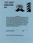 DC Trip Permission Slip by Braod Street Studio