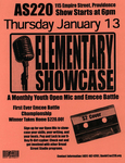 Elementary Showcase A Monthly Youth Open Mic and Emcee Battle by David Gonzalez