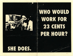 Who Would Work For 23 Cents Per Hour?