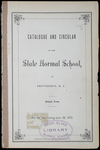 Rhode Island Normal School Catalog, 1872