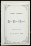 Rhode Island Normal School Catalog, 1873 by Rhode Island State Normal School
