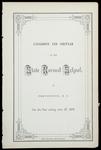Rhode Island Normal School Catalog, 1873