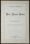 Rhode Island Normal School Catalog, 1877