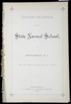 Rhode Island Normal School Catalog, 1879 by Rhode Island State Normal School