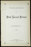 Rhode Island Normal School Catalog, 1880