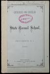 Rhode Island Normal School Catalog, 1882