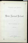 Rhode Island Normal School Catalog, 1887