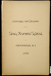 Rhode Island Normal School Catalog, 1894 by Rhode Island State Normal School