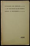 Rhode Island Normal School Catalog, 1896