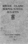 Rhode Island Normal School Catalog, 1911