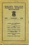 Rhode Island Normal School Catalog, 1918-1919