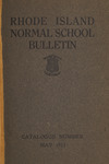Rhode Island Normal School Catalog, 1913
